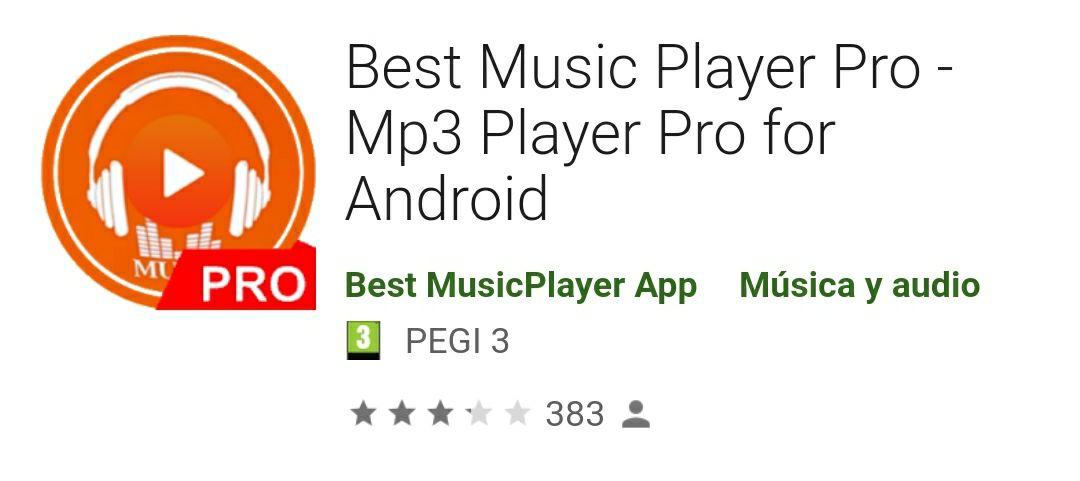 Best Music Player Pro