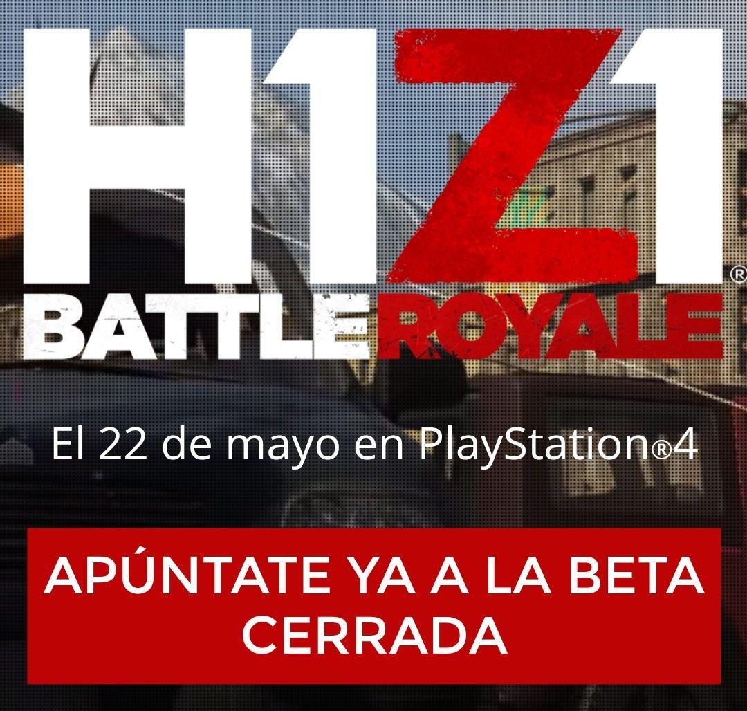 Beta cerrada de H1Z1 en PlayStation 4