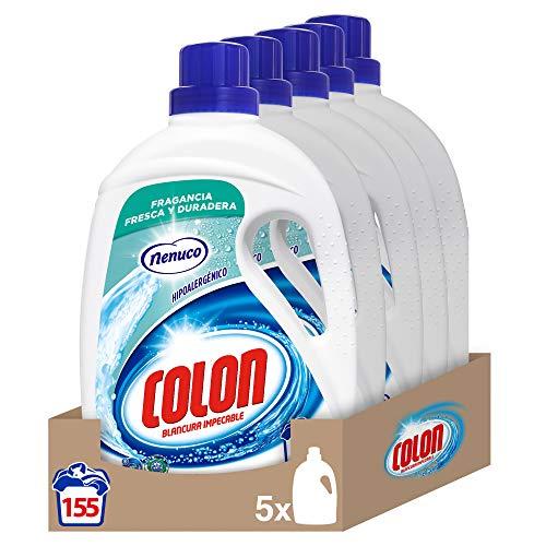 Colon Detergente Lavadora Líquido, 155 Lavados