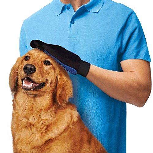 Guante cepillo Healthy Clubs para eliminar pelo a mascotas