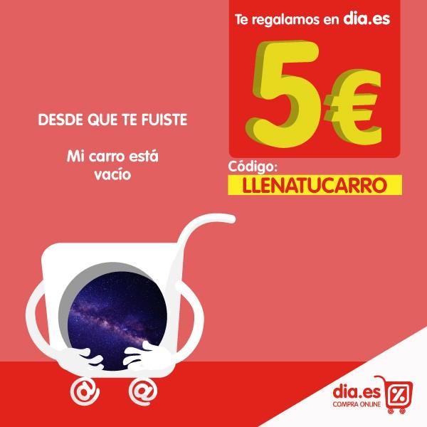 5€ de regalo en DIA Online