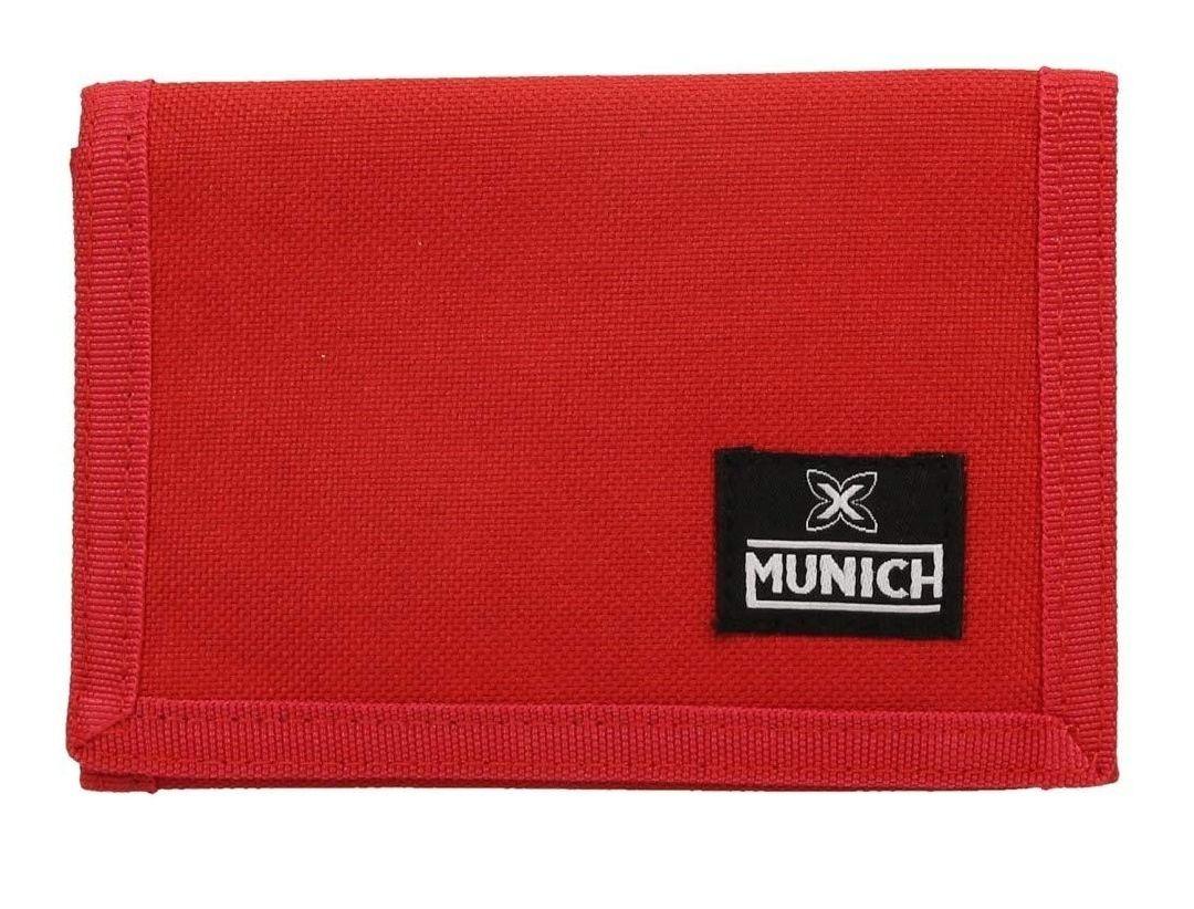 Cartera de tela roja Munich por 10 euritos