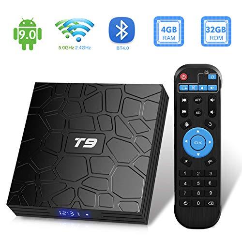 Android TV Box 9.0,2019 T9 4Gb RAM 32 ROM RK3318