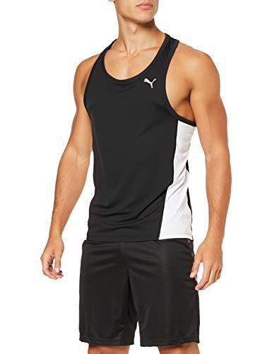 PUMA Cross The Line Singlet Camiseta De Tirantes, Hombre