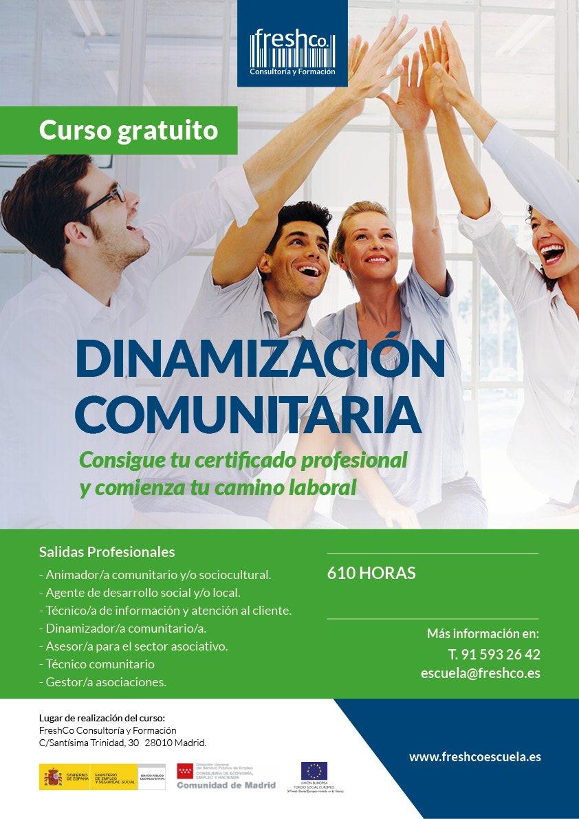 Dinamización comunitaria - Curso GRATIS