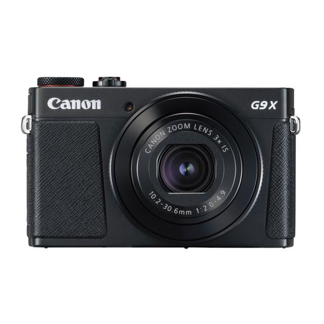 Canon Poweshot G9 X Mark II Negra F2.0 20.9 MP