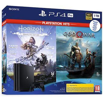 PS4 Pro 1TB+ God of War+ Horizon Zero Dawn