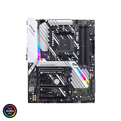 Asus PRIME X470-PRO Placa con M.2 heatsink, DDR4 3600MHz