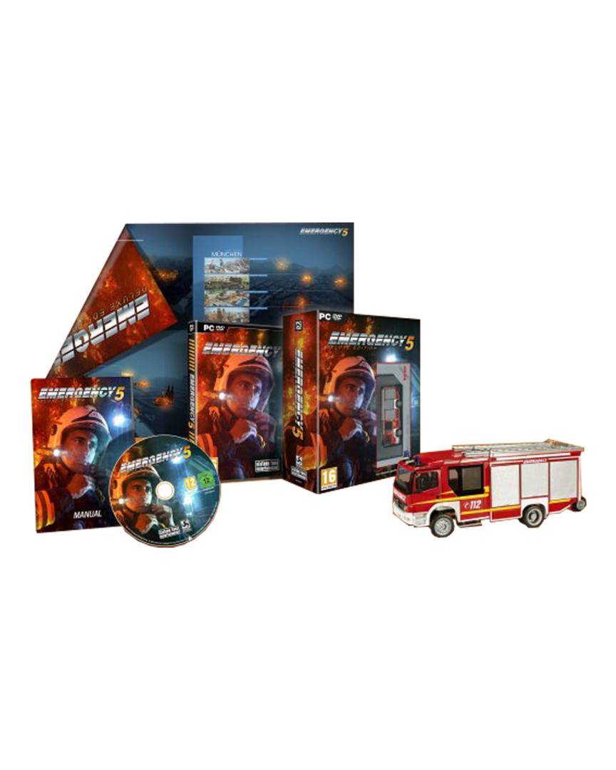 Juego Emergency 5 Edición Deluxe PC Físico