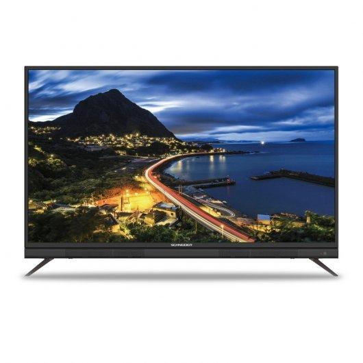TV 55'' Schneider DLED UltraHD 4k + Barra de Sonido