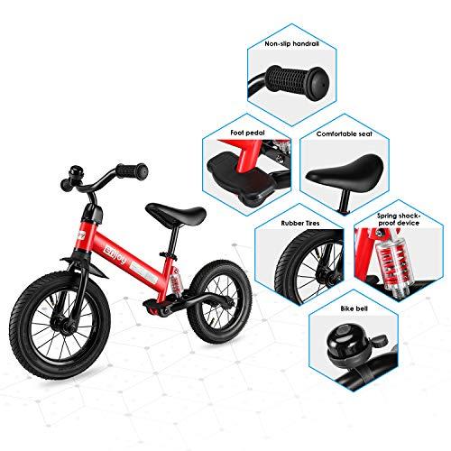 Bicicleta Sin Pedales con Amortiguador Central