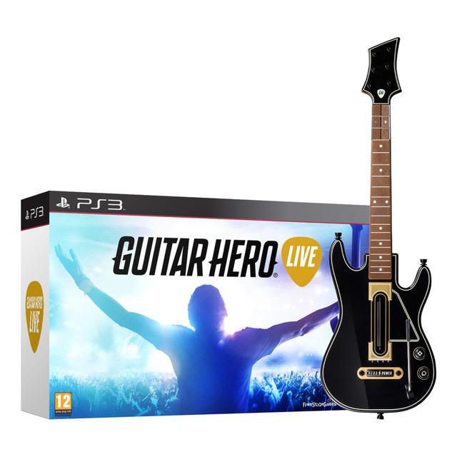 Guitar Hero Live + Guitarra (PS3)