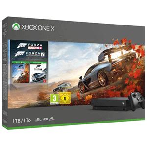 Xbox One X 1TB + Forza Horizon 4 y Forza Motorsport 7 con envio gratis