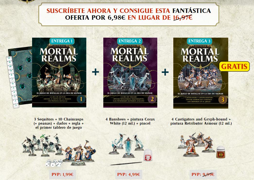 Colección - Warhammer Realms