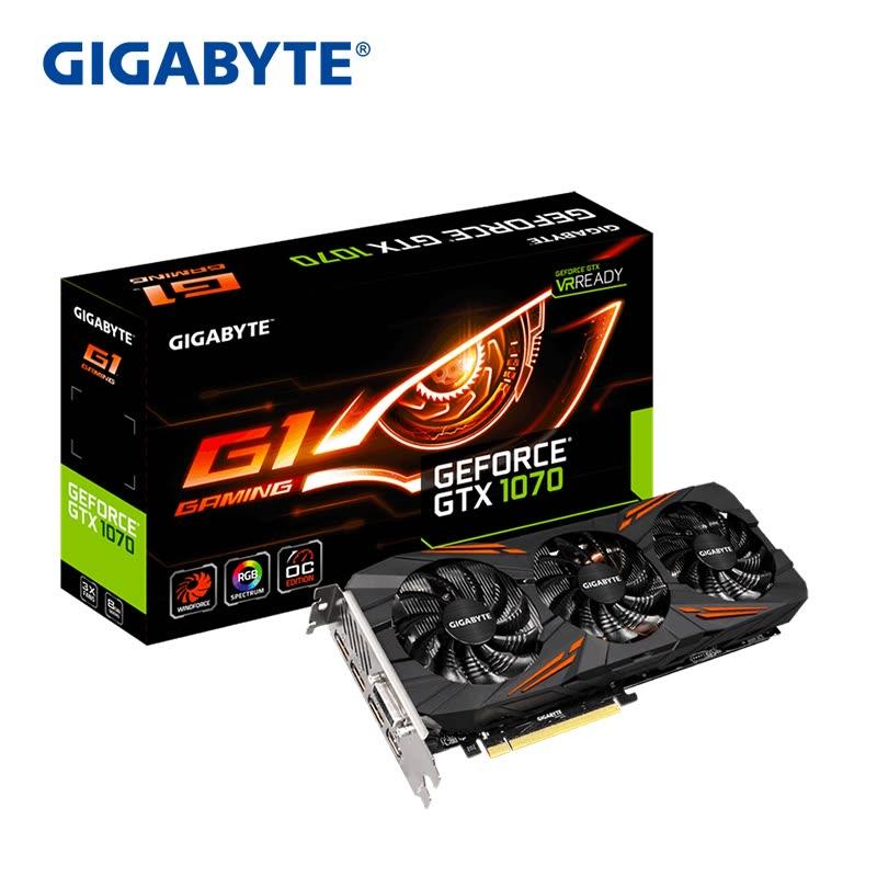 Tarjeta gráfica GTX 1070 8GB Geforce G1 solo 411€