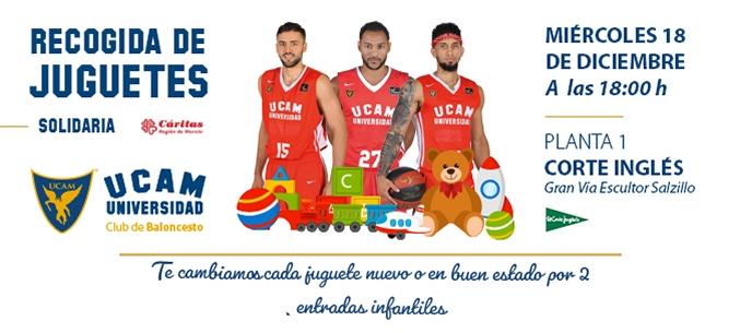 GRATIS dos entradas infantiles UCAM Murcia vs Retabet Bilbao
