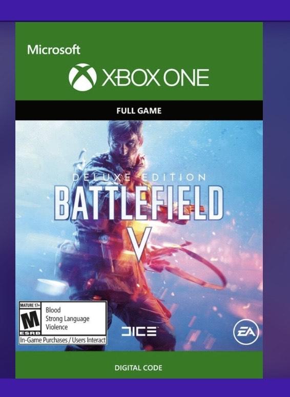 Battlefield V Edición Deluxe Xbox one