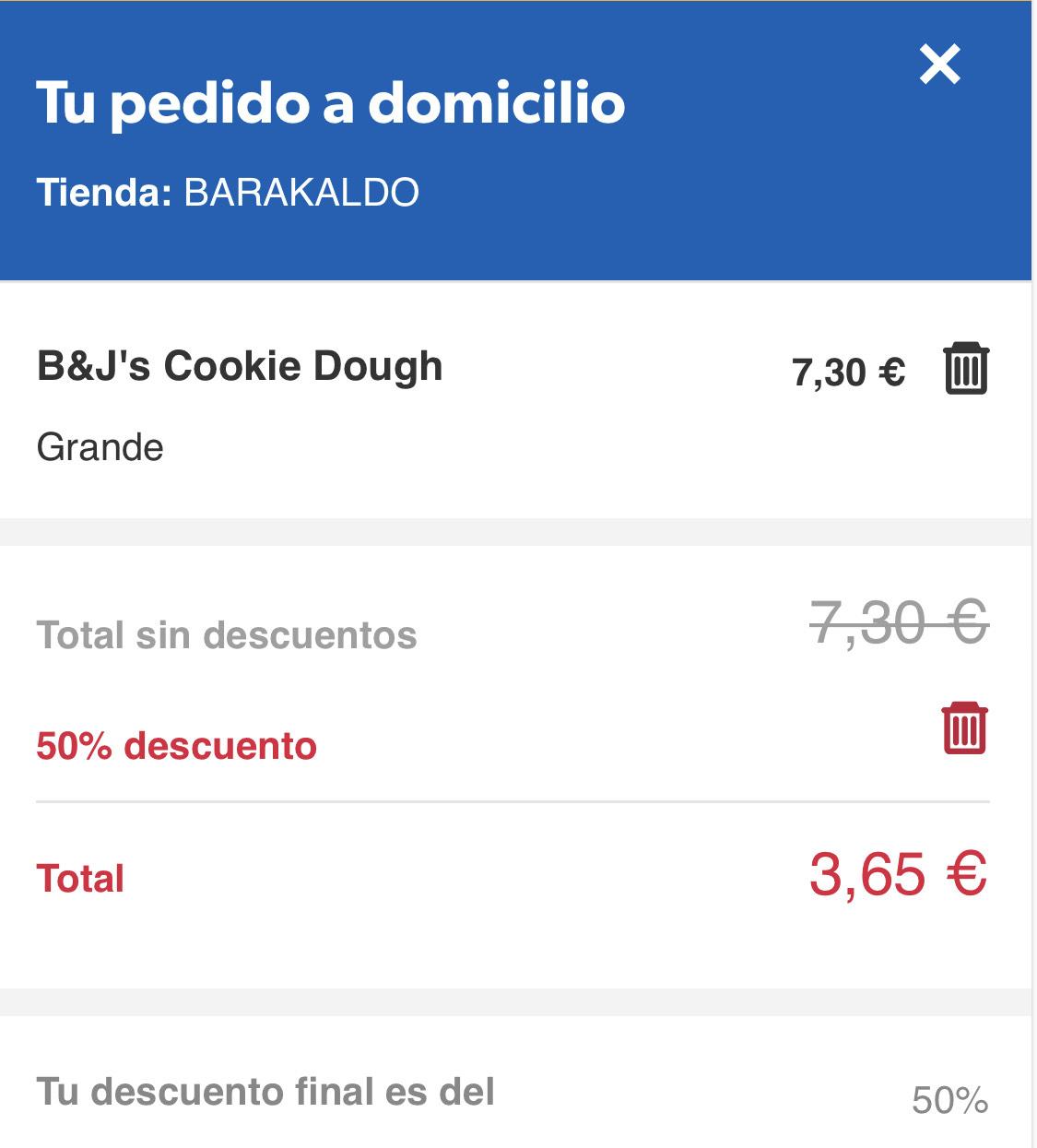 HELADOS B&J's a 3,65€