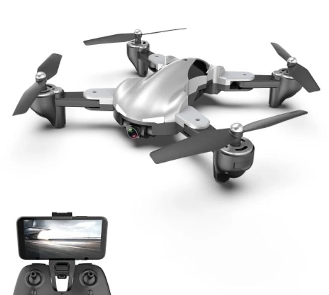 X13S Drone con cámara 1080P Quadcopter Posicionamiento de flujo óptico RC