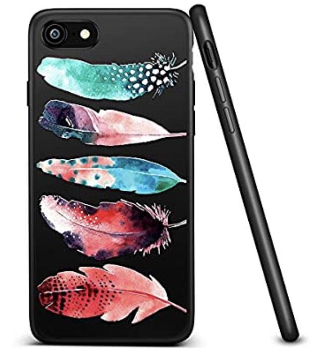 Funda iPhone 7 de plumas !!! (Reacondicionado)