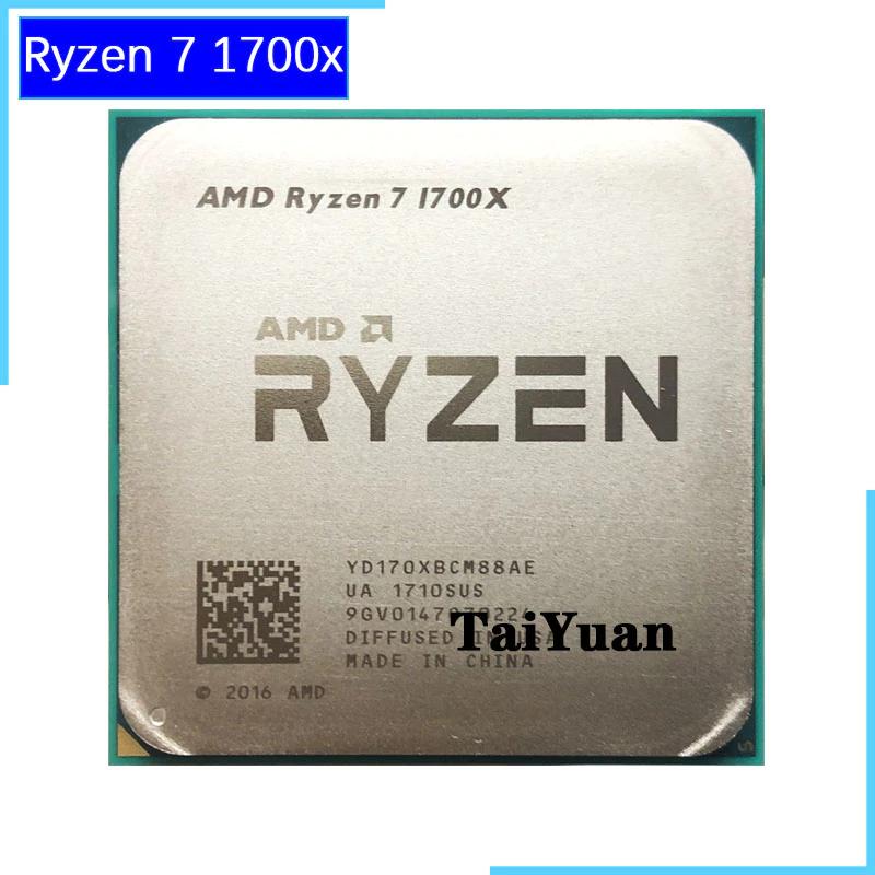Ryzen 7 1700X usado, 8 nucleos y 16 hilos
