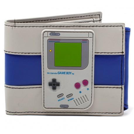 Cartera Nintendo game Boy en relieve. 30% descuento
