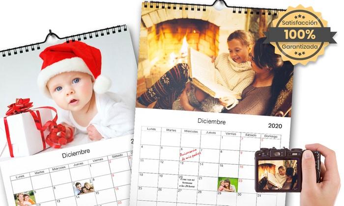 Calendario A4 personalizable