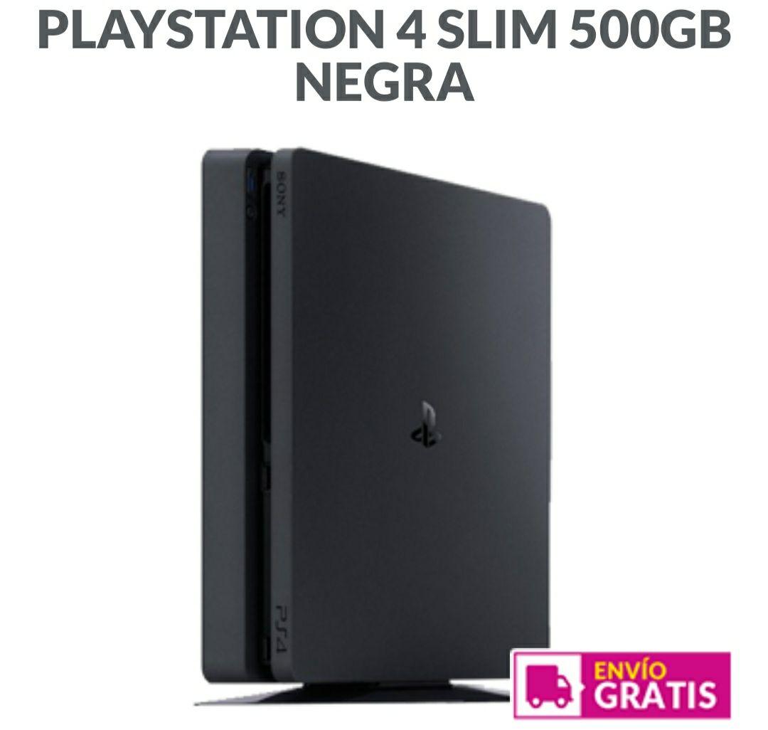 PS4 Slim 500Gb + Mando Seminueva