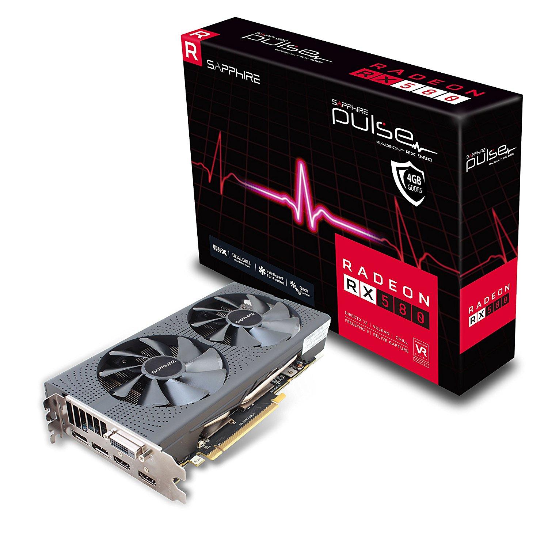 Sapphire Radeon RX 580 Pulse 4GB DDR5