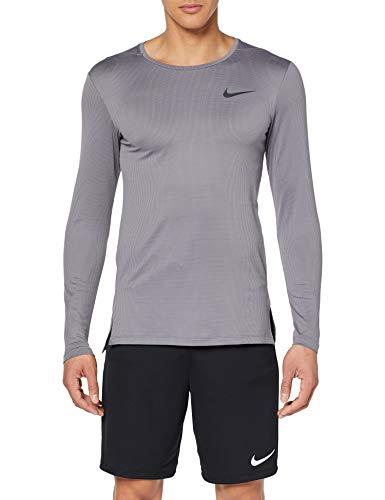 TALLA M - Nike M Nk Dry Top LS Slim Long Sleeved t-Shirt, Hombre