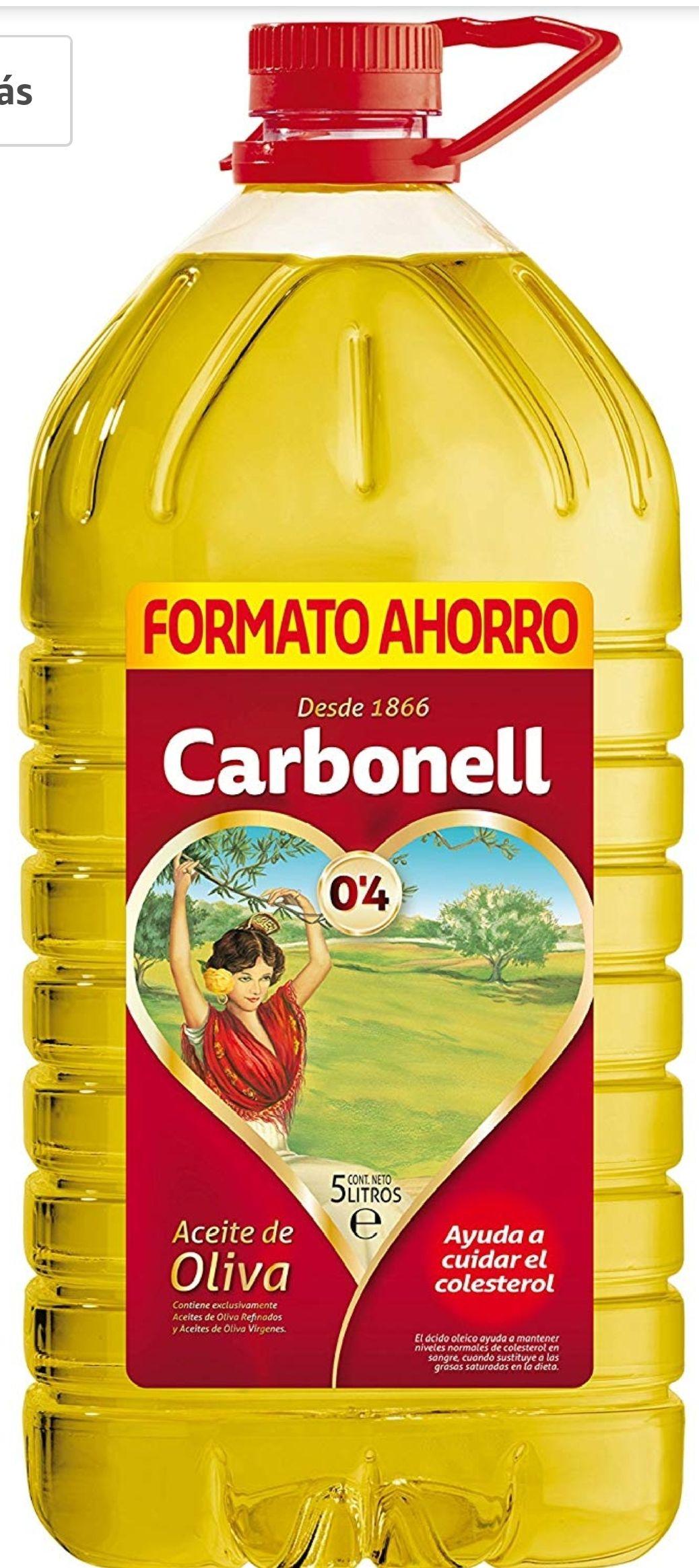 Carbonell, Aceite de oliva - 5 l.