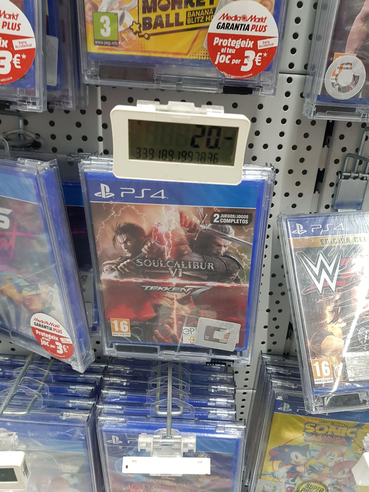Soul calibur 6 + Tekken 7