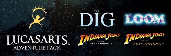 LucasArts Adventure Pack - Steam