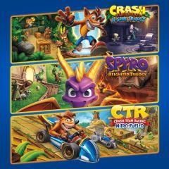 Lote Triple juego Crash™ + Spyro™