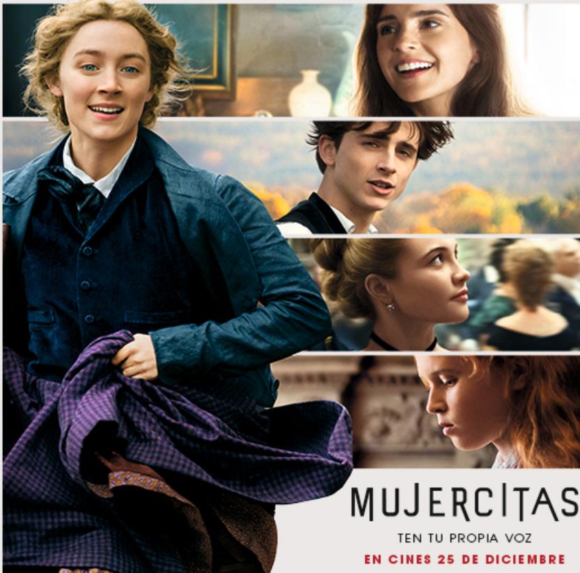 Entrada de Cine GRATIS para Mujercitas
