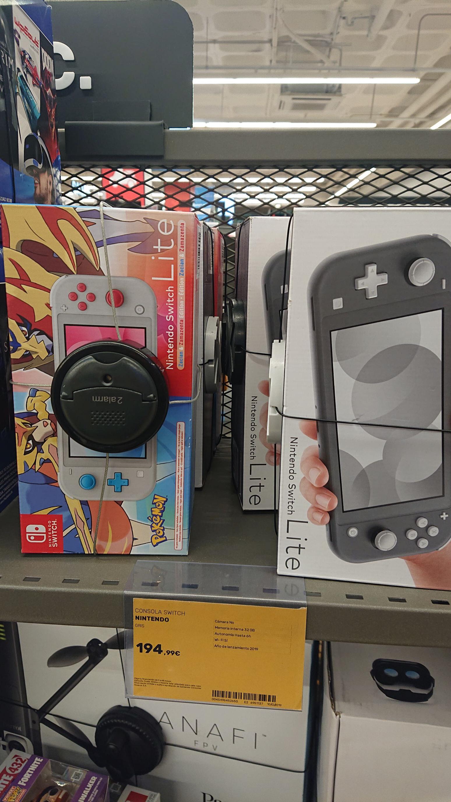Nintendo switch lite (Centro Comercial Carrefour) Tenerife