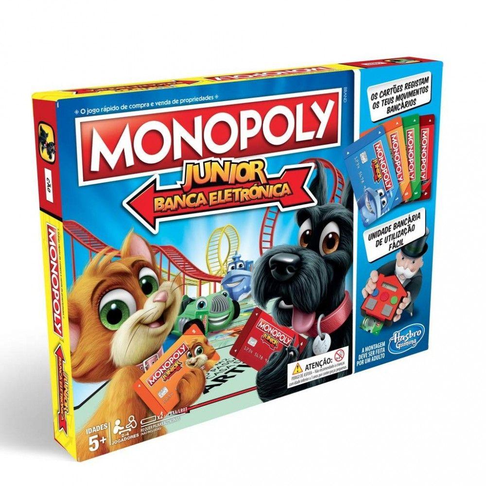 JUEGO MONOPOLY JUNIOR POR SOLO 4,99€