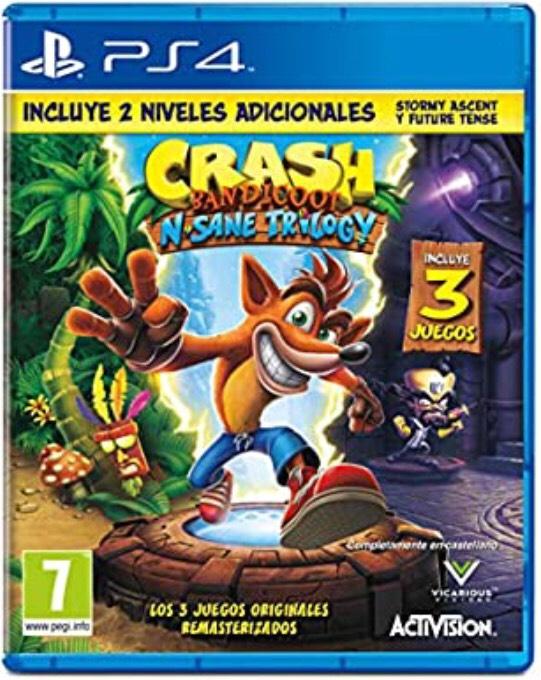 Crash Bandicoot N.Sane Trilogy (PS4 y XBOX)