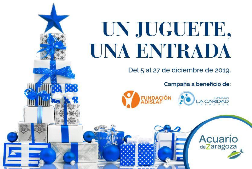 Aquario Zaragoza - Juguete por entrada infantil gratis