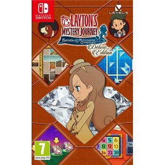 Mínimo histórico para el juego El misterioso viaje de Layton para Nintendo Switch