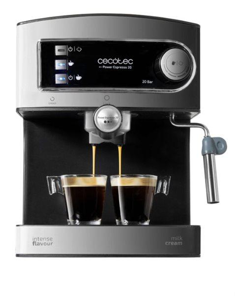 Cafetera express Power Espresso 20 Cecotec de 1,5 litros 850W