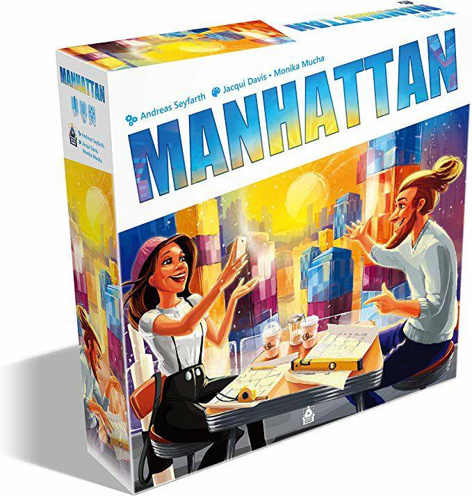 Juego de mesa Manhattan
