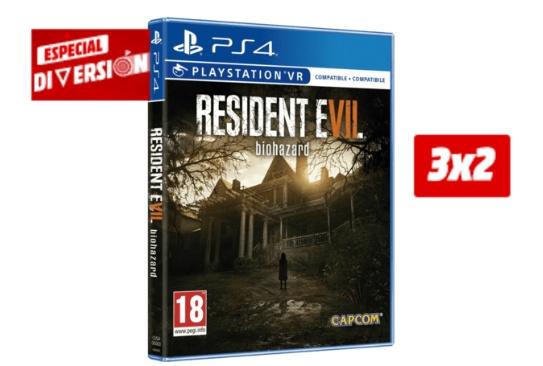 3x2 en una selección de juegos de PS4 de 19,90 euros