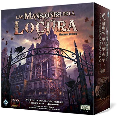 Las Mansiones de la locura Segunda Edición. JUEGAZOOOOO