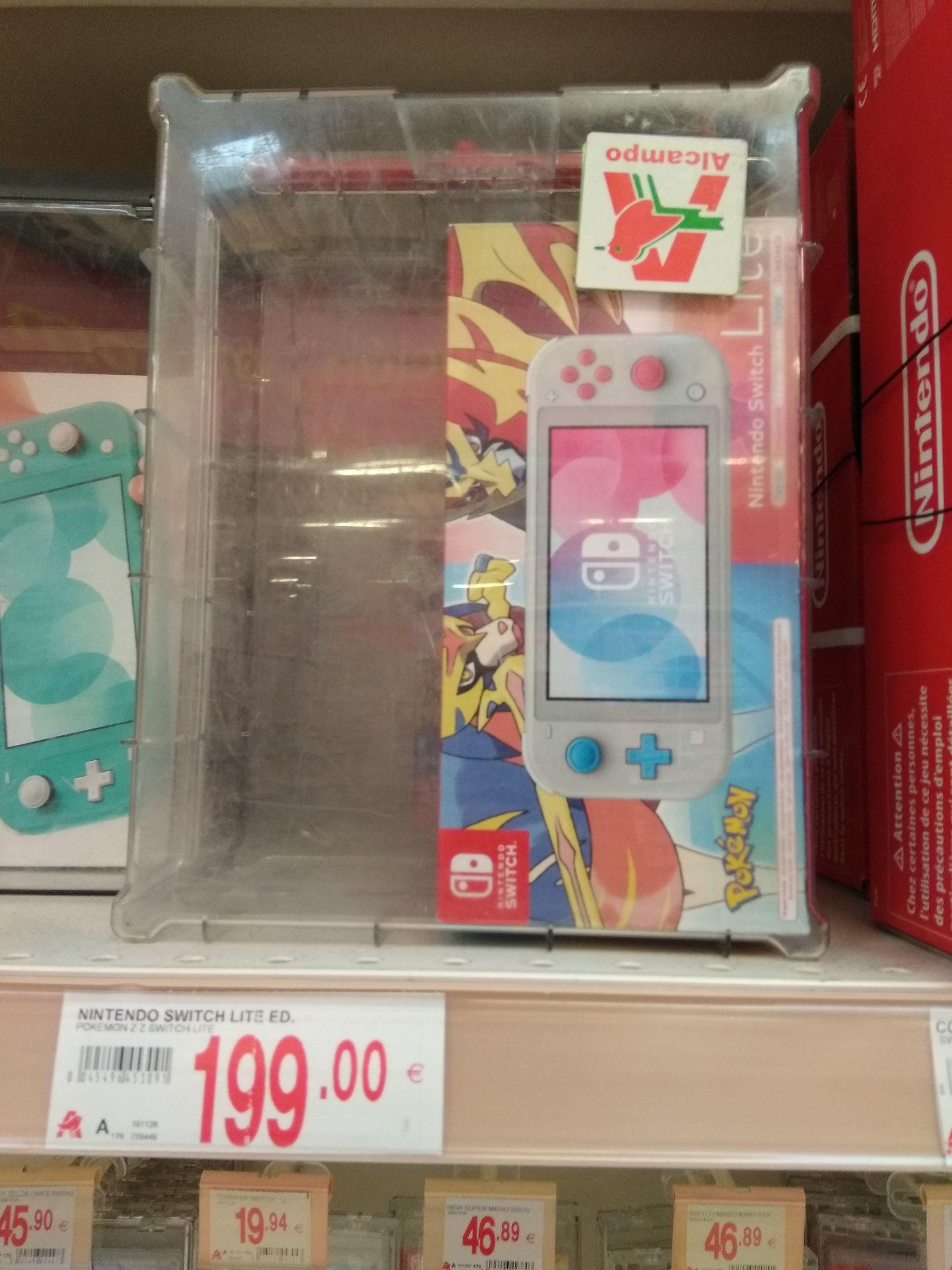 Nintendo Switch Lite edición Zacian y Zamazenta (Alcampo Sanlúcar de Barrameda)