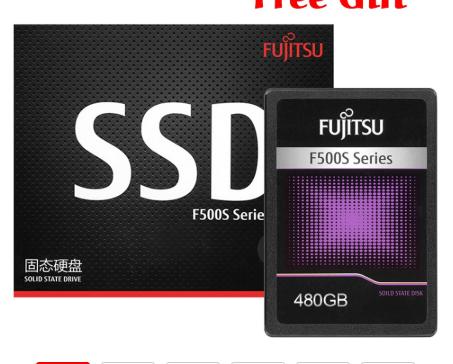 SSD FUJITSU 480 GB (OTRAS CAPACIDADES DISPONIBLES)