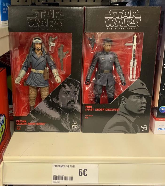 Figuras Star Wars Black Series (16cm)