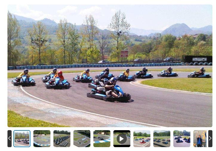 Campeonato Karts en Asturias desde 10€/persona [Mínimo 7 personas]