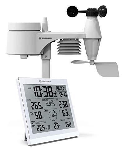 Radio de estación meteorológica Bresser con sensor exterior
