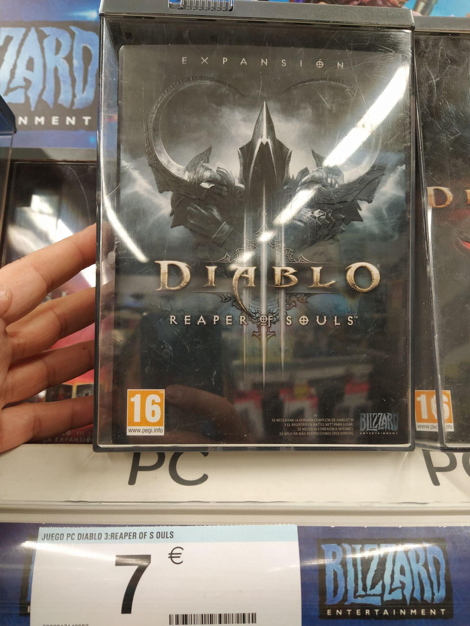Reaper If Souls, expansión de Diablo III para PC en Carrefour Castellon